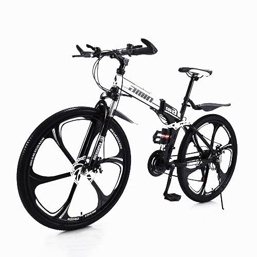 Fahrrad Stahlrahmen,Fahrrad 26 Zoll Mountainbike,24gang schaltung, vorderradgabelaufhÄngung mit verriegelungsfunktion, doppelscheibenbremsen und integrierten Anti-rutsch-Reifen