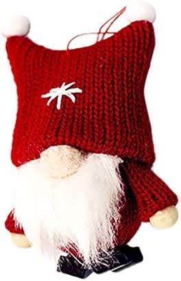 Fine Christmas Ornament Blindfolded Santa Claus Doll Pendant Hanging Ornaments for Christmas product image