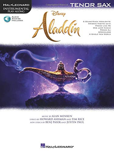 Aladdin: Tenor Sax (Hal Leonard Instrumental Play-along)