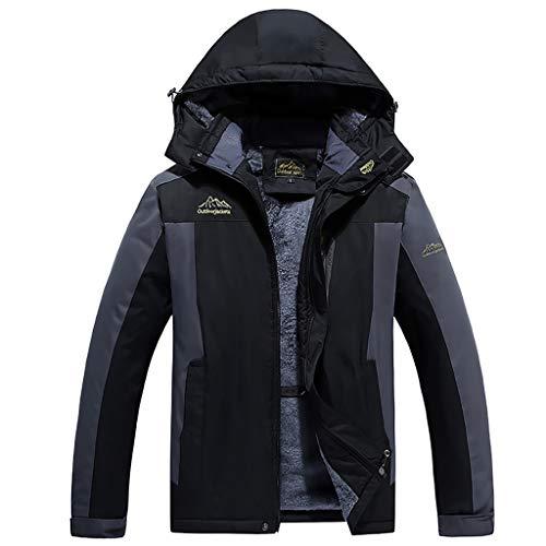 giacca 7xl Giacca in Pile Impermeabile da Uomo