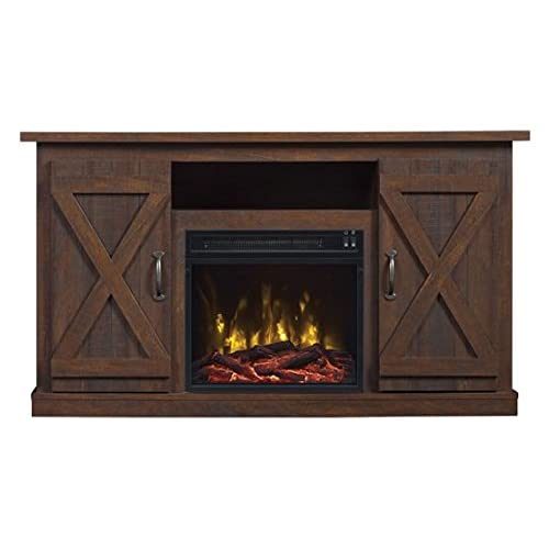 Tv Stand With Fireplace Heater Amazon Com