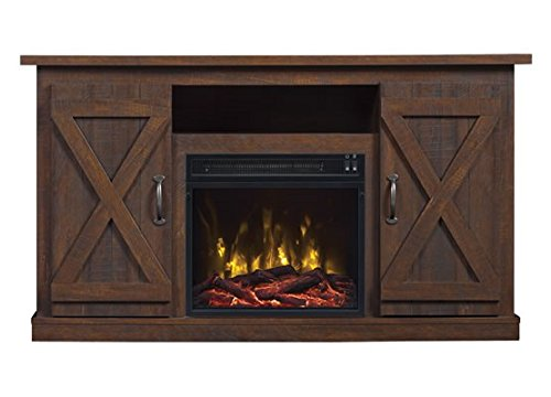 Comfort Smart Killian Electric Fireplace TV Stand, Espresso Décor Dining electric Features Fireplaces Home Kitchen