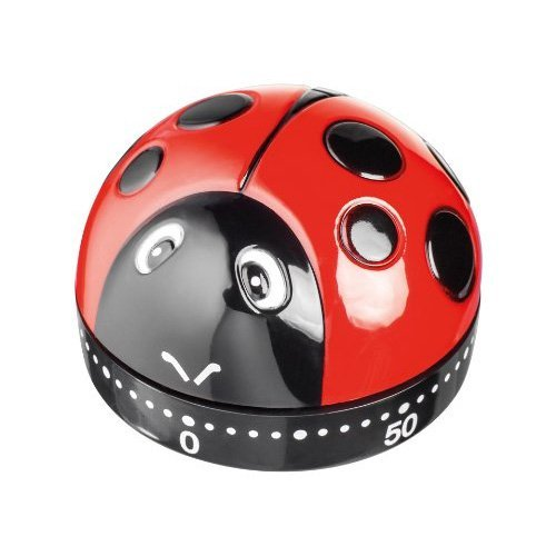Horwood Coccinella analogica Timer, Rosso