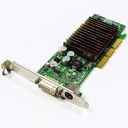 63900edc1 NVIDIA GeForce MX440 64MB DDR AGP DVI Low Profile Video Card w TV-Out