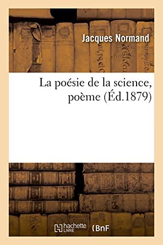 La poésie de la science, poème (Éd.1879)