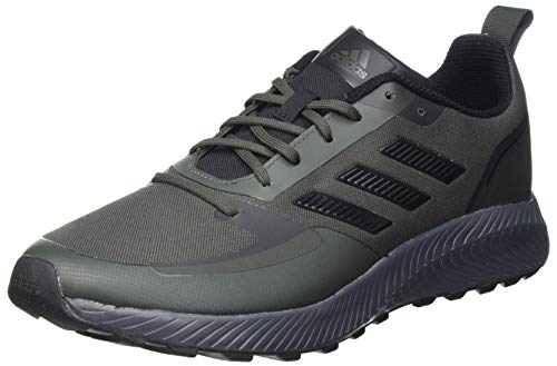 adidas RUNFALCON 2.0 TR, Scarpe da Corsa Uomo, Legend Earth/Core Black/Grey Six, 40 2/3 EU
