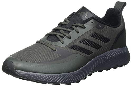 adidas Men's RUNFALCON 2.0 TR Running Shoe, Legend Earth Core Black Grey Six, 6 UK
