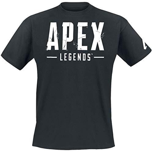 Apex Legends Emblem Männer T-Shirt schwarz M 100% Baumwolle Esports, Fan-Merch, Gaming