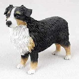 Australian Shepherd Figurine Tri-Color