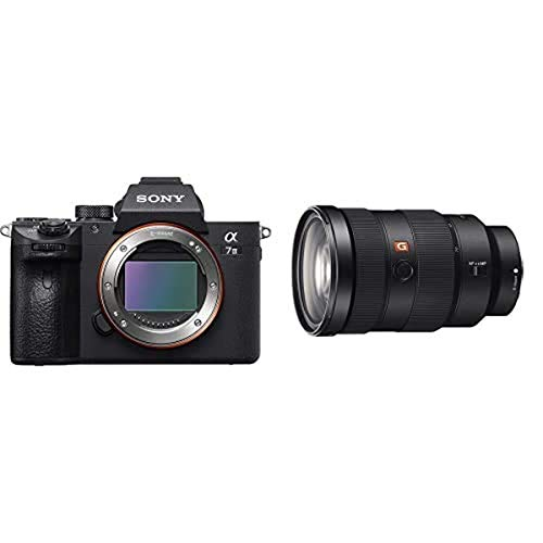 Sony a7 III Full-Frame Mirrorless Interchangeable-Lens Camera Optical with 3-Inch LCD, Black (ILCE7M3/B) and FE 24-70mm f/2.8 GM Lens