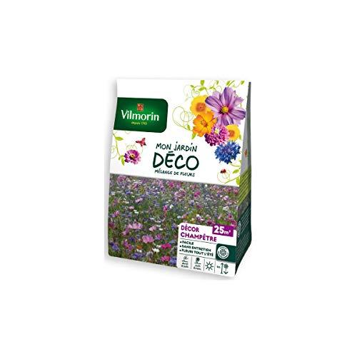 Vilmorin Sachet graines Mélange de Fleurs champêtre 25m2