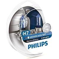 BOMBILLAS DE MEJORA DE FARO PHILIPS DIAMOND VISION H7 5000k