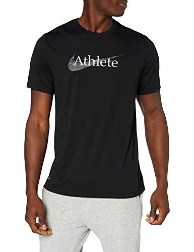 Nike Herren Dry Athlete T-Shirt, Black, L