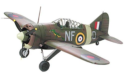 タミヤ 1/48 傑作機シリーズ No.94 イギリス空軍 ブリュースター B-339 バッファロー 太平洋戦線 プラモデ...