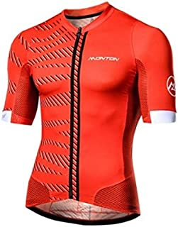 Monton Urban Selvaggio Cycling Red Jersey, Outdoor Sports Breathable