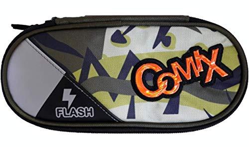 massimo Astuccio Ovale Comix Flash Special Organizzato Portapenne (camuflage)