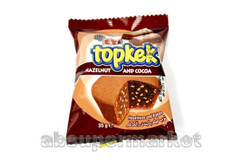 Eti Topkek Hazelnut and Cocoa 35g