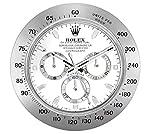 VOObeedkcltth Rolex Daytona Reloj de pared luminoso