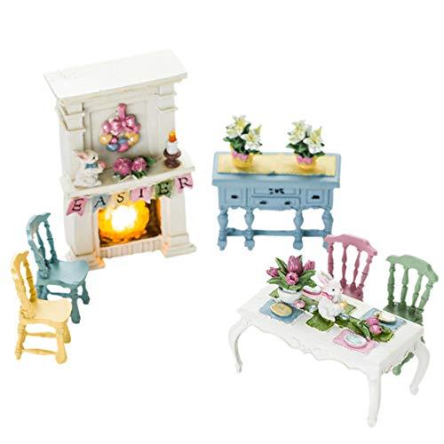 DANJIA Decoration de Lapin Chambre Ornements Chambre Enfant Fille Coeur Bijoux Mignons Cadeau Personnalité