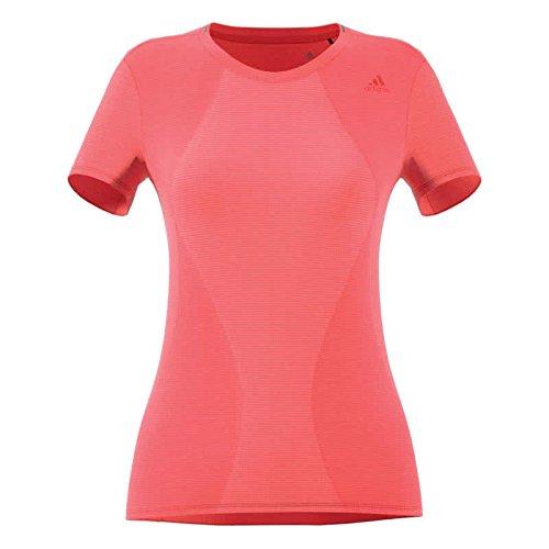 adidas Supernova Chemise Femme, Orange, FR : S (Taille Fabricant : S-34/36)