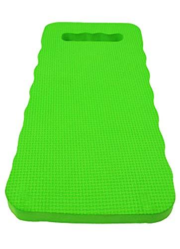 eyepower Estera de Protección para Rodillas 46x23cm Almohadilla para arrodillarse Sentarse en el Suelo Extra Gruesa 2,5cm Verde