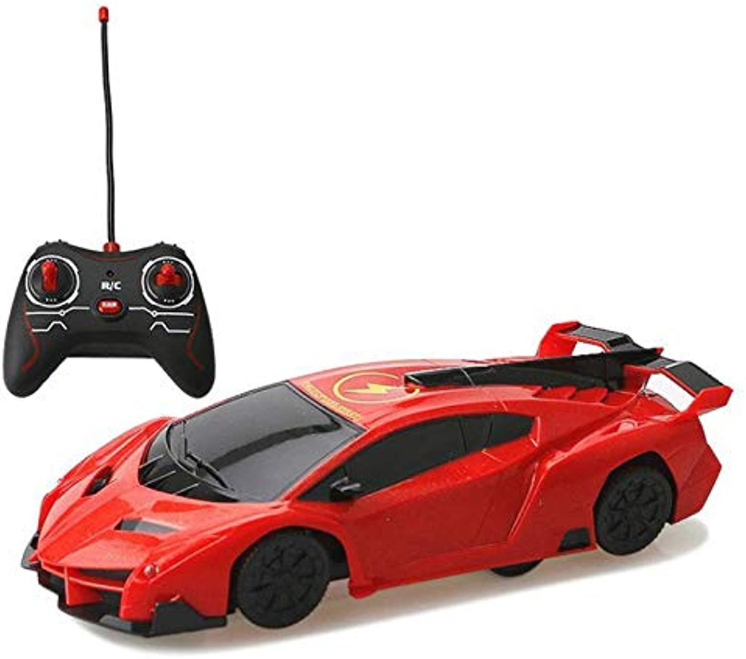 Generic Toy Remote Control Rc Car Rc Wall Climber Toy Car Vehicle Electrictoy Remote Controls Rocket Toys Climber of The Wall Games. Red
