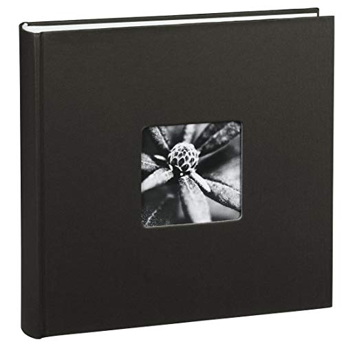 comparateur Album photo Hama «Fine Art» (Format 30 x 30 cm, 100 pages vierges, sans spirale) Noir