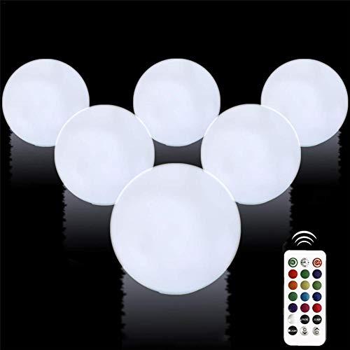 Generp Leuchtende Kugel - 13 Farbwechsel Wasserdicht Aufblasbare Leuchtende Kugel PVC Fernbedienung Led Ball Dekorative Wasserball für Zuhause im Freien