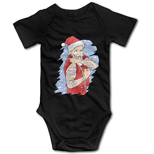 Promini Mameluco de manga corta de algodón para bebé de Pa