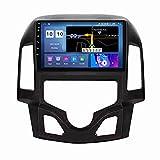 Estéreo para automóvil para Hyundai i30 2007-2012 Radio Navegación GPS Android 10.0 DSP Carplay 10.1 Pulgadas IPS Pantalla táctil BT 4G WiFi SWC con cámara de Respaldo