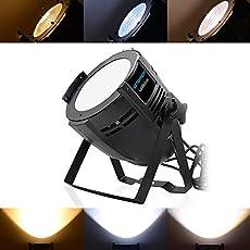 SevenStars Par Lights 200W COB Light Stage Sound Activated DJ Lights for Party/Stage Show/DJ/Club/Karaoke