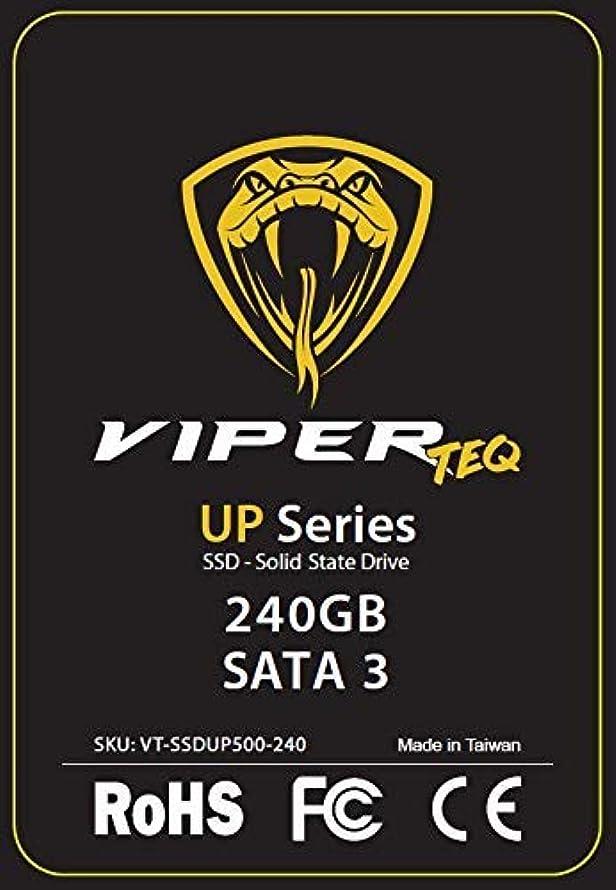 ヒロイン偉業息を切らしてViperTeq UPシリーズSSD内蔵ソリッドステートドライブNAND Flash 2.5 '、SATA III 6 Gbit/s、最大560MB / sの黒、黄色、容量(SSD):240GB [並行輸入品]