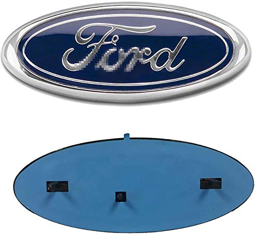For F-o-r-d Emblem Front Grille Emblems 9'X3.5' Tailgate Badge Replacement for F-150 2004-2014, F-250/ F-350 2005-2007,Edge 2011-2014,Explorer 2011-2016,EXPEDITION,RANGER (9' Blue)