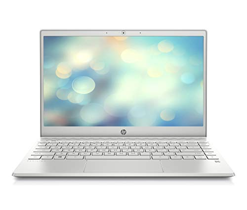 HP Pavilion 13-an0010ng (13,3 Zoll / FHD IPS) Notebook (Intel Core i5-8265U, 8GB DDR4 RAM, 512GB SSD NVMe, Intel UHD Grafik, Windows 10) silber
