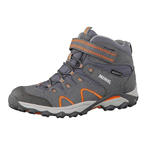 Meindl Kinder Schuhe Lucca Junior Mid 2099 Grau/Orange 28