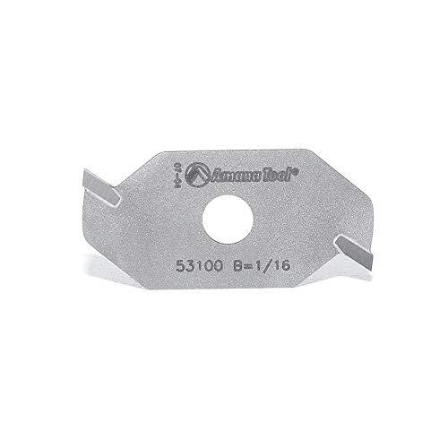 Amana Tool - 53100 Slotting Cutter 2 Wing x 1-7/8 Dia x 1/16 x 5/16 Inner Dia