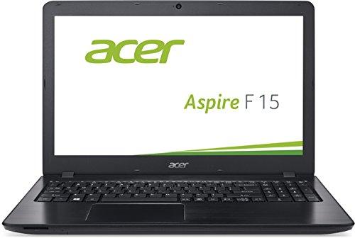 Acer Aspire F 15 (F5-573G-55KW) 39,6 cm (15,6 Zoll Full HD) Notebook (Intel Core i5-6200U, 8GB RAM, 256GB SSD + 1000GB HDD, Nvidia GeForce GTX 950M, DVD, Win 10 Home) schwarz