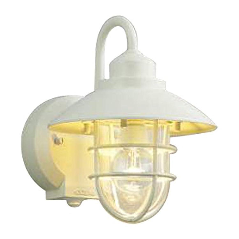 湿地不足ショットコイズミ照明 LED防雨型ブラケットタイマー付ON-OFFタイプ(白熱球60W相当)電球色 AU38411L