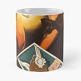 Tobacco Art Deco 1930 Casque Dor - Coffee Mugs Unique Ceramic Novelty Cup Best Gift