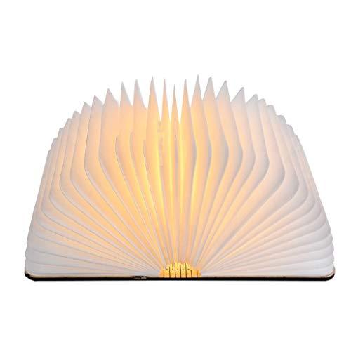 HUANGDA Tourner Livres Veilleuse USB Rechargeable LED Lampe Pliante Livre Creative Ffashion Cadeau Lampe De Table