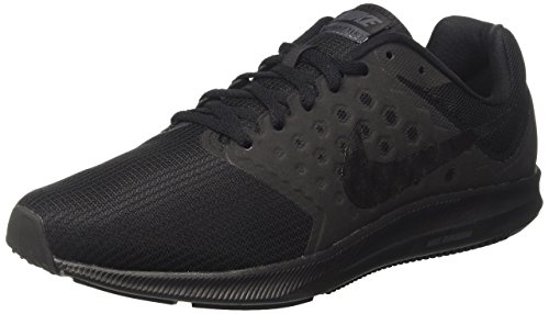 Nike Downshifter 7, Zapatillas de Running Hombre, Negro (Black/metallic Hematite-anthracite), 46 EU