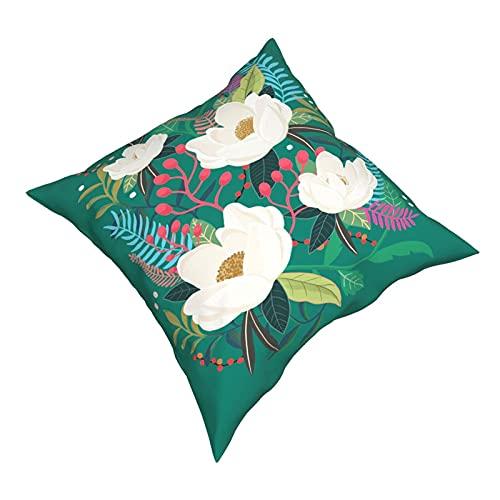 DRXX The Garden of Alice, Flower, Floral, Blossom Art Print Tank Top Funda de Almohada Moda Cuadrada Funda de Almohada Decoración Throw Pillow Cover 45 X 45 cm