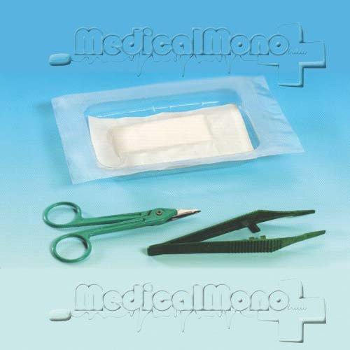 Kit rimozione suture sterile