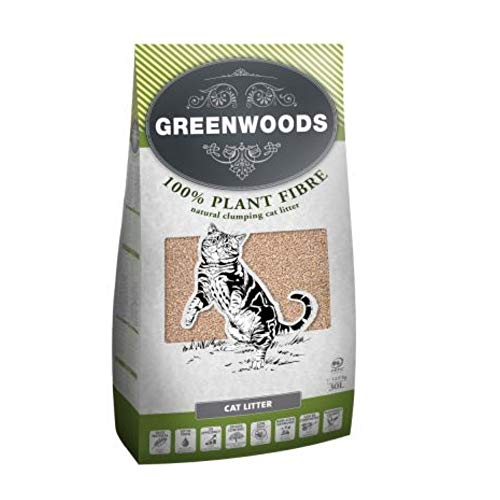 Greenwoods Naturale Clumping Litter – 30l
