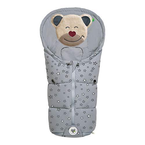Mucki Fashion - Coprigambe invernale per ovetto, navicella