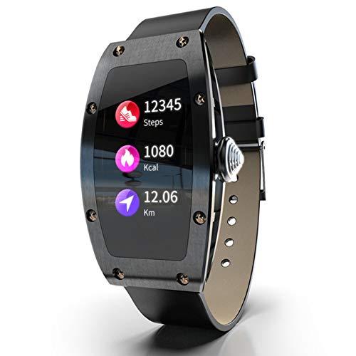 YYZ Smart Watch Female Health Monitor Queen Heart Rate Monitor de presión Arterial Monitor de Llamada entrante Call Reminder Smart Watch,B
