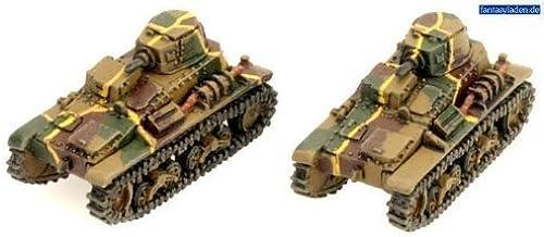 Flames of War Japanese Type 94 TK (early war, 2 tanks, JP005) by Flames of War