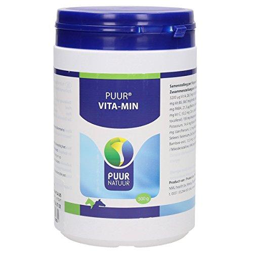 500 GR Puur natuur vita-min (vitaminen en mineralen) voor paard en pony