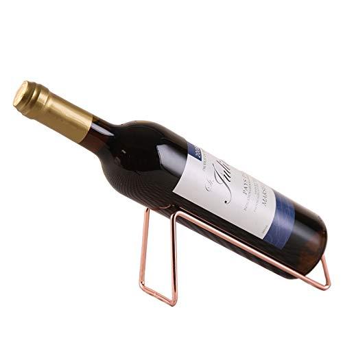 LINALL Weinregal aus Edelstahl – Weinflaschenhalter – BRTL0039 (Kupfer)