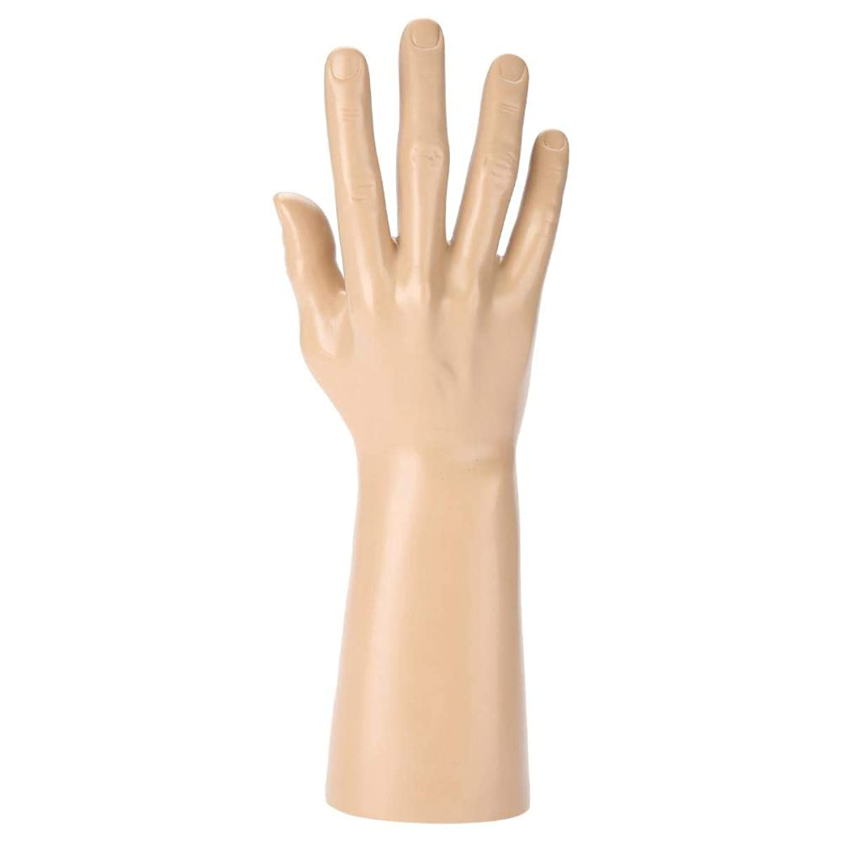 High Simulated Male Hand Model Mannequin Hand for Ring Gloves Bracelets Jewelry Display, Creative Rosary Frame Hand Model Display